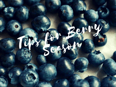 Tips for Berry Season