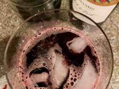 Don't Judge Me Mondays: Blackberry Red Wine Spritzer