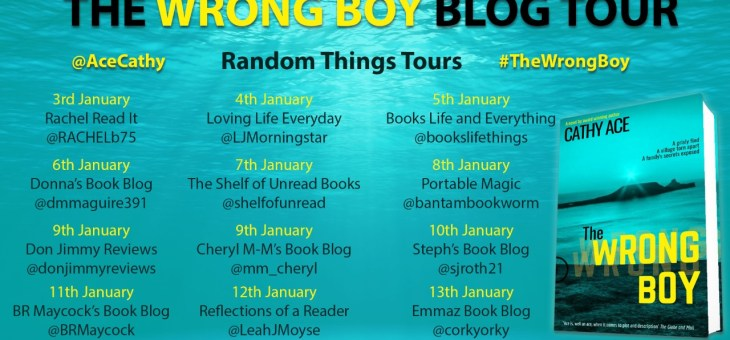 Blog Tour-'The Wrong Boy' by Cathy Ace