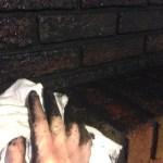 How To Blackwash Your Brick Fireplace Rachel Rossi