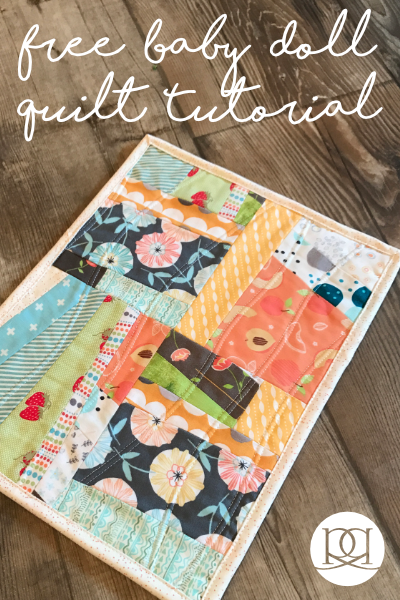 An Easy Baby Doll Quilt Pattern