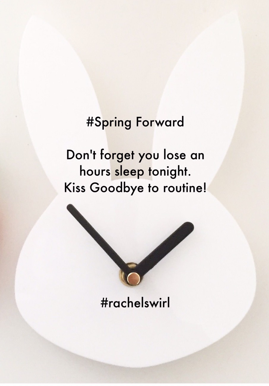 Losing Time & Springing Forward