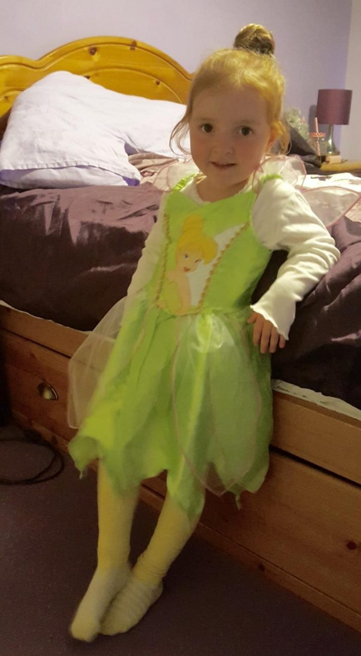 #MySundayPhoto Our Daughter Is Tinkerbell