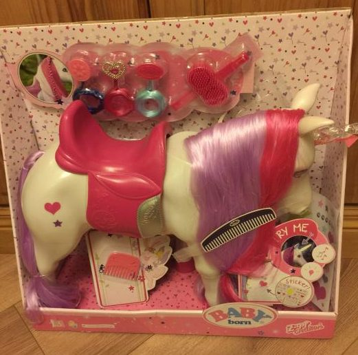 Interaction At Its Best With The Baby Born Interactive Unicorn