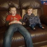 #MySundayPhoto - Sibling Sofa Surfing