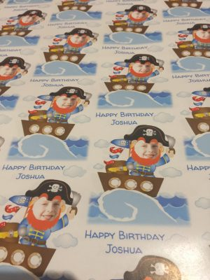 Perfect Personalised Pirate Birthday Accessories From Dom & Geri