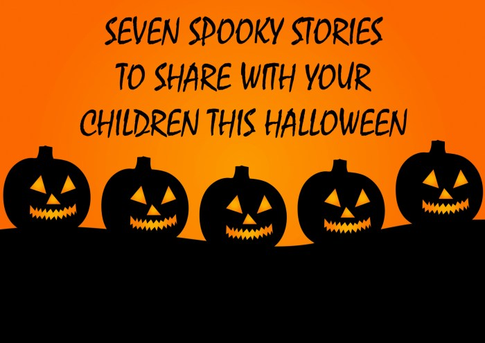 Seven Spooky Stories To Share With Your Children This Halloween