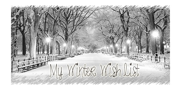 My Winter Wish List