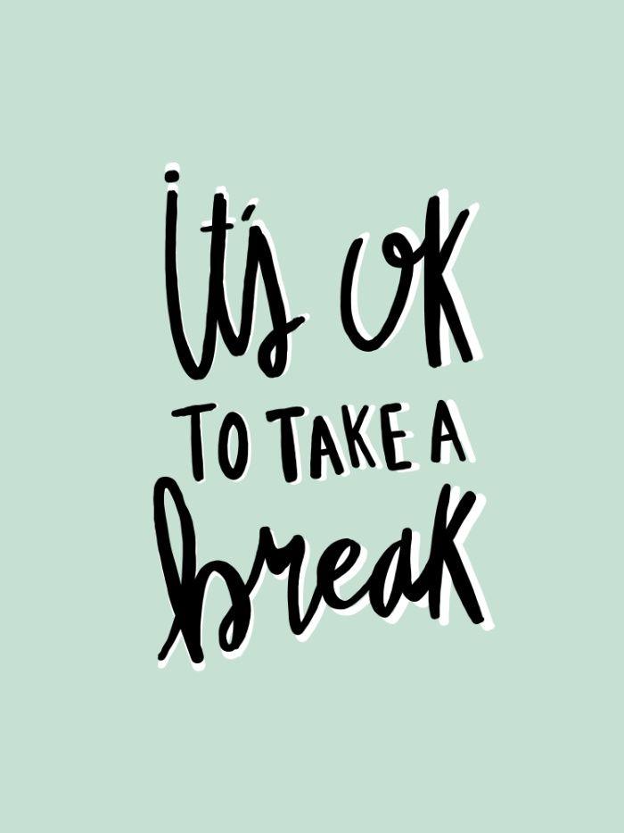 Taking A Break From Blogging