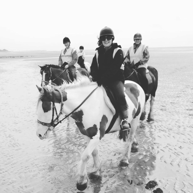 #MySundayPhoto – Beach Riding Bliss