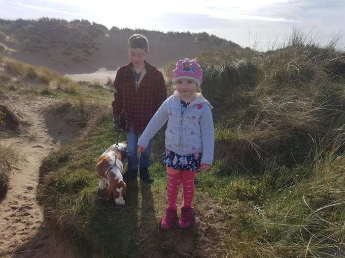 #TheOrdinaryMoments - On The Dunes With The Dog