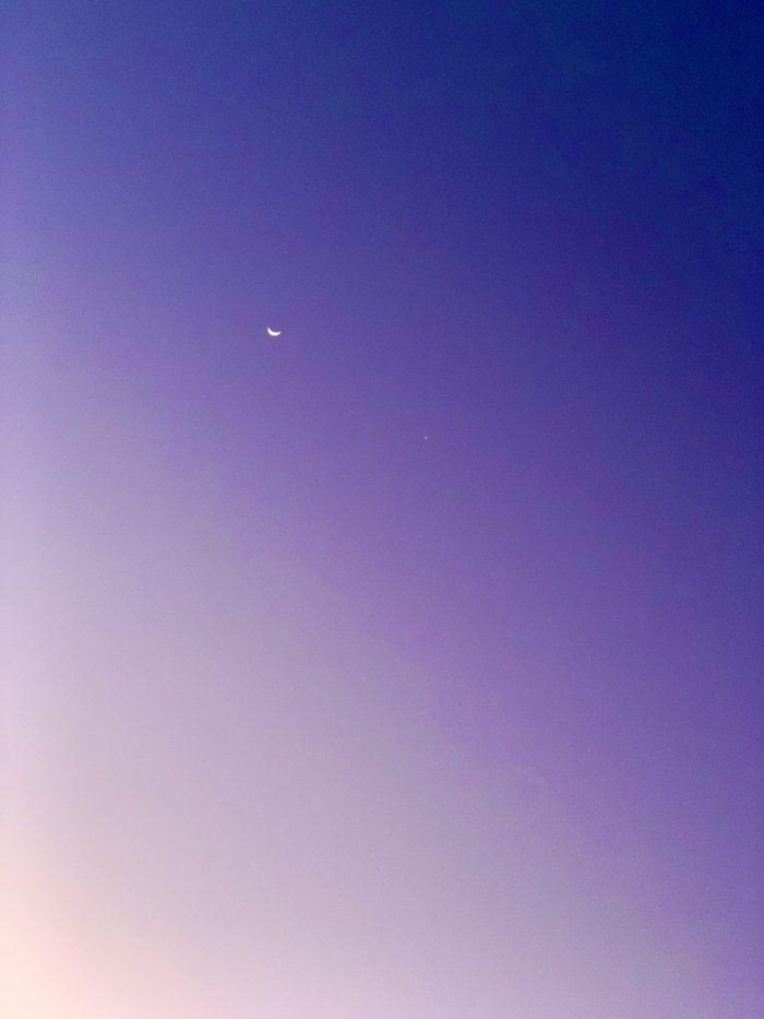 #MySundaySnapshot – Moon Gazing 13/52 (2020)