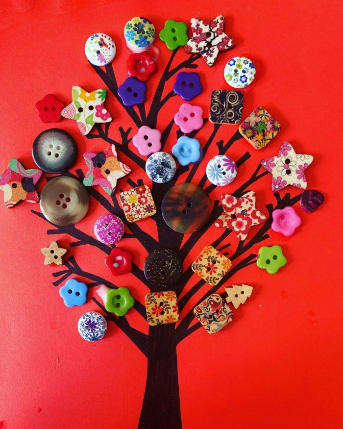 #MySundaySnapshot - The Beautiful Button Tree 19/52 (2020)