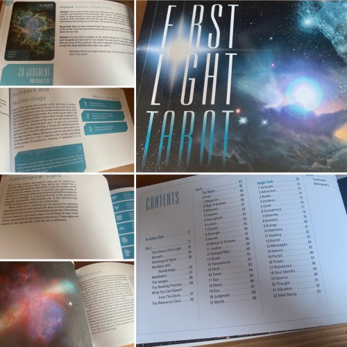 Studying The Stars With The First Light Tarot