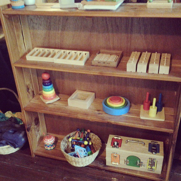 montessori, materials, toys, playroom, home