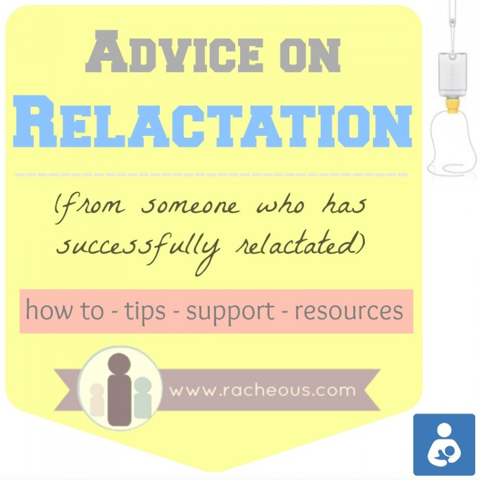 relactation, relactate, increase supply, help, advice, how to