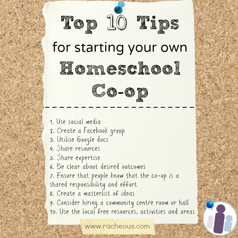 best advice tips for starting homeschool co-op