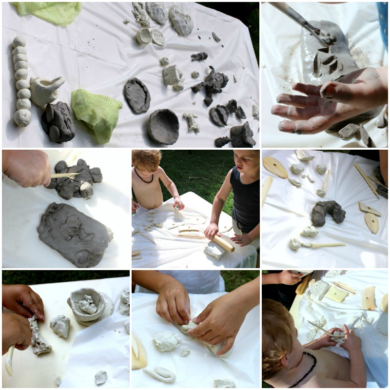 clay Collage