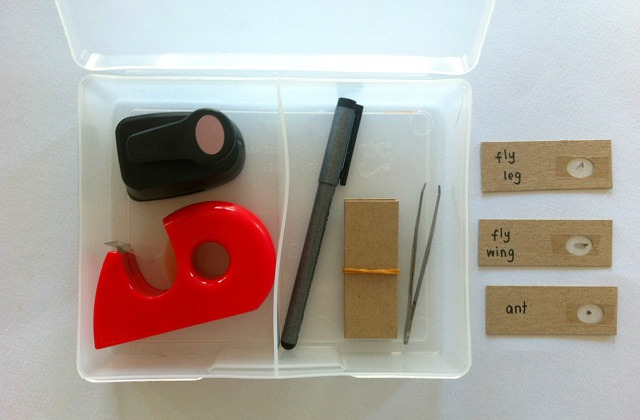 DIY Microscope Kit Real Tools Montessori