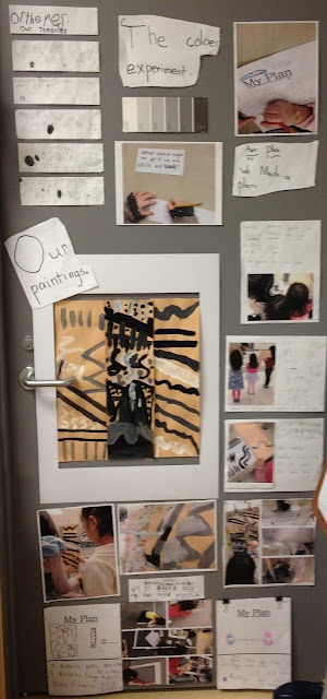 Poster documentation project based learning kids reggio