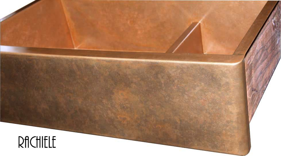 Copper Sinks Double And Triple Bowl Copper Sinks By