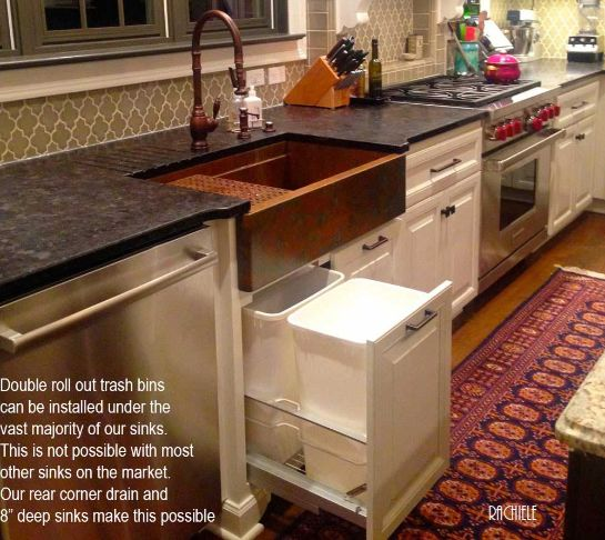 Rachiele Copper Apron Front Sinks Made In The USA