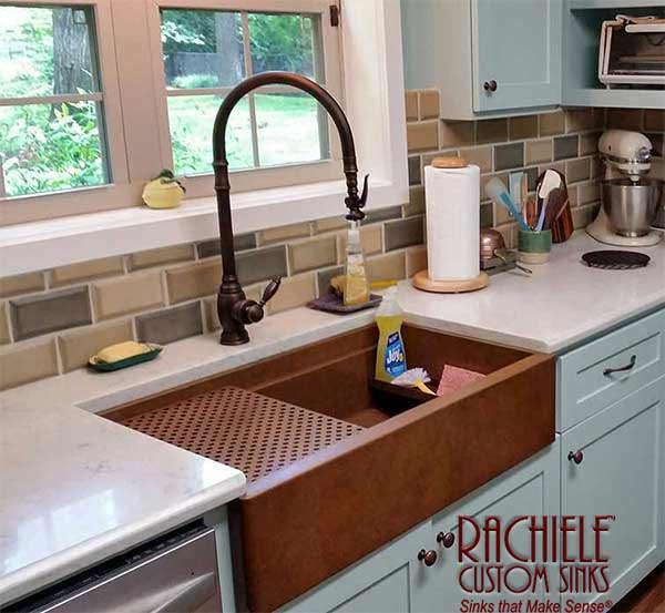 copper kitchen sinks target furniture innovative custom stainless steel and sink designs farmhouse