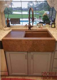 Copper Farm Sinks hand-crafted and custom made in the USA.