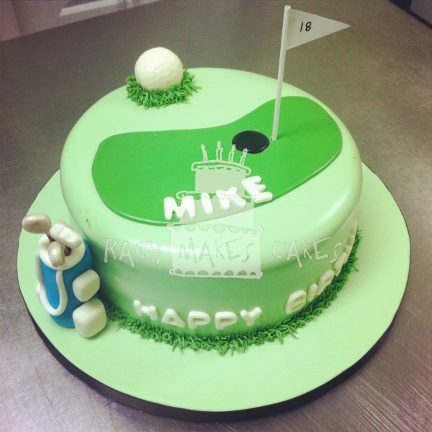 Mikes Golf Cake Rach Makes Cakes