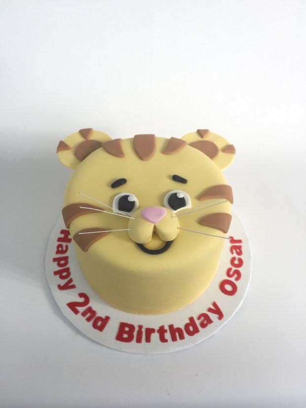 Daniel Tiger Cake Rach Makes Cakes