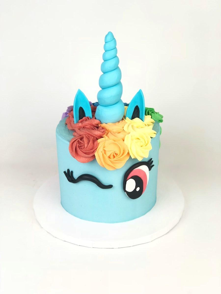 Brilliant Rainbow Dash Unicorn Cake Rach Makes Cakes Funny Birthday Cards Online Elaedamsfinfo