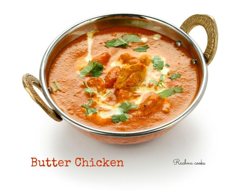 butter chicken chicken makhani