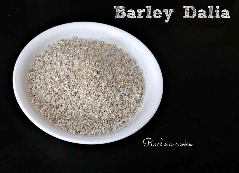 barley upma