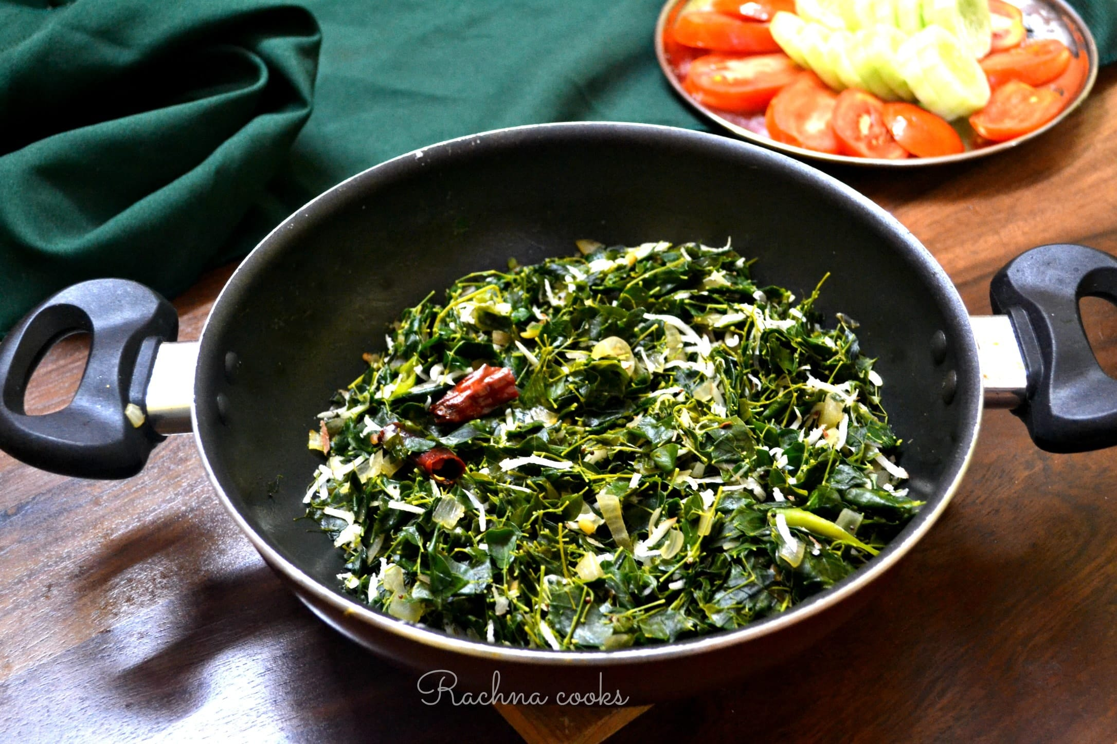 Moringa Leaves Stir fry | Drumstick Leaves Stir fry Recipe