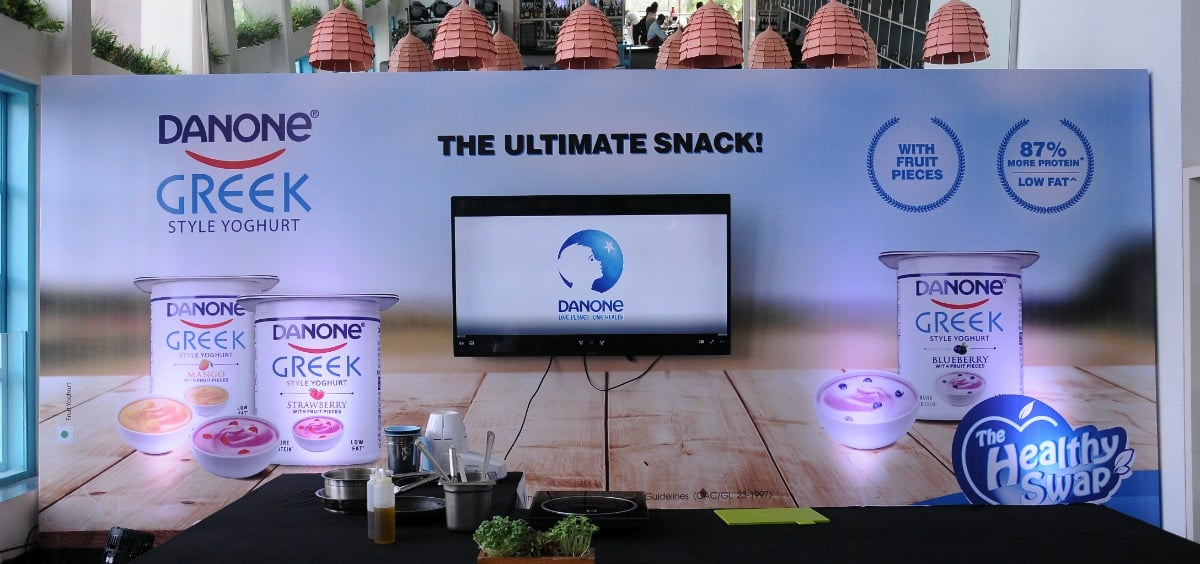 #TheHealthySwap with Danone Greek Yoghurt