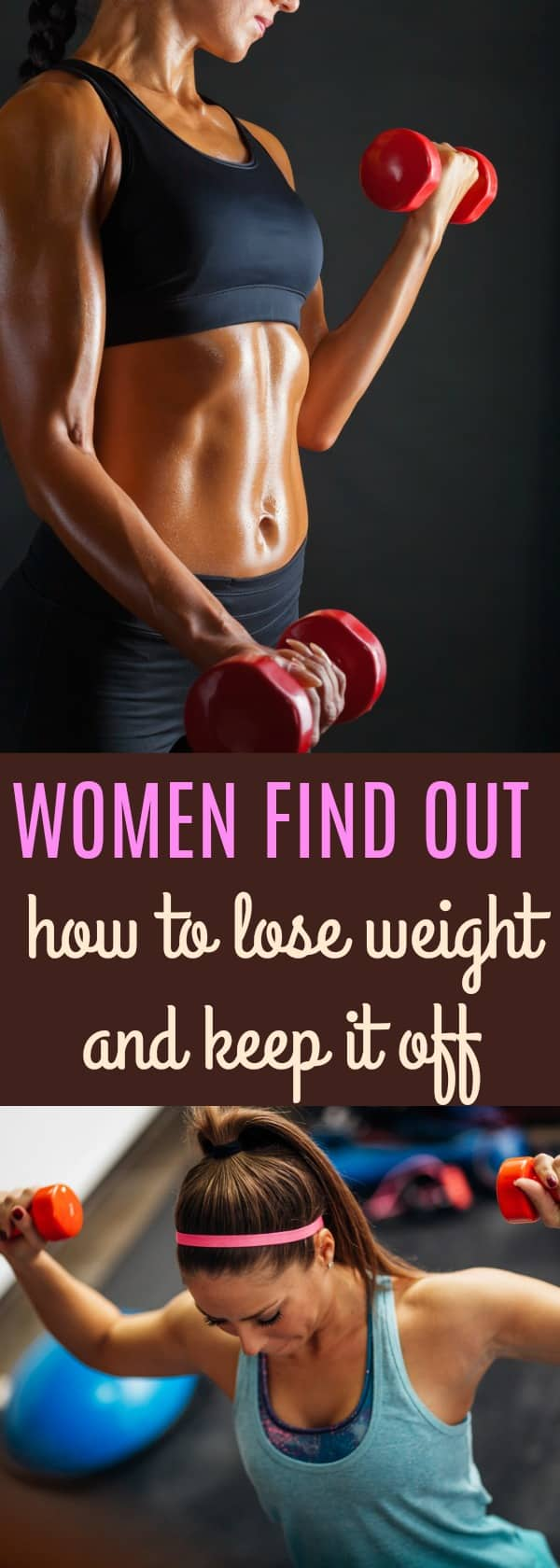women lift weights