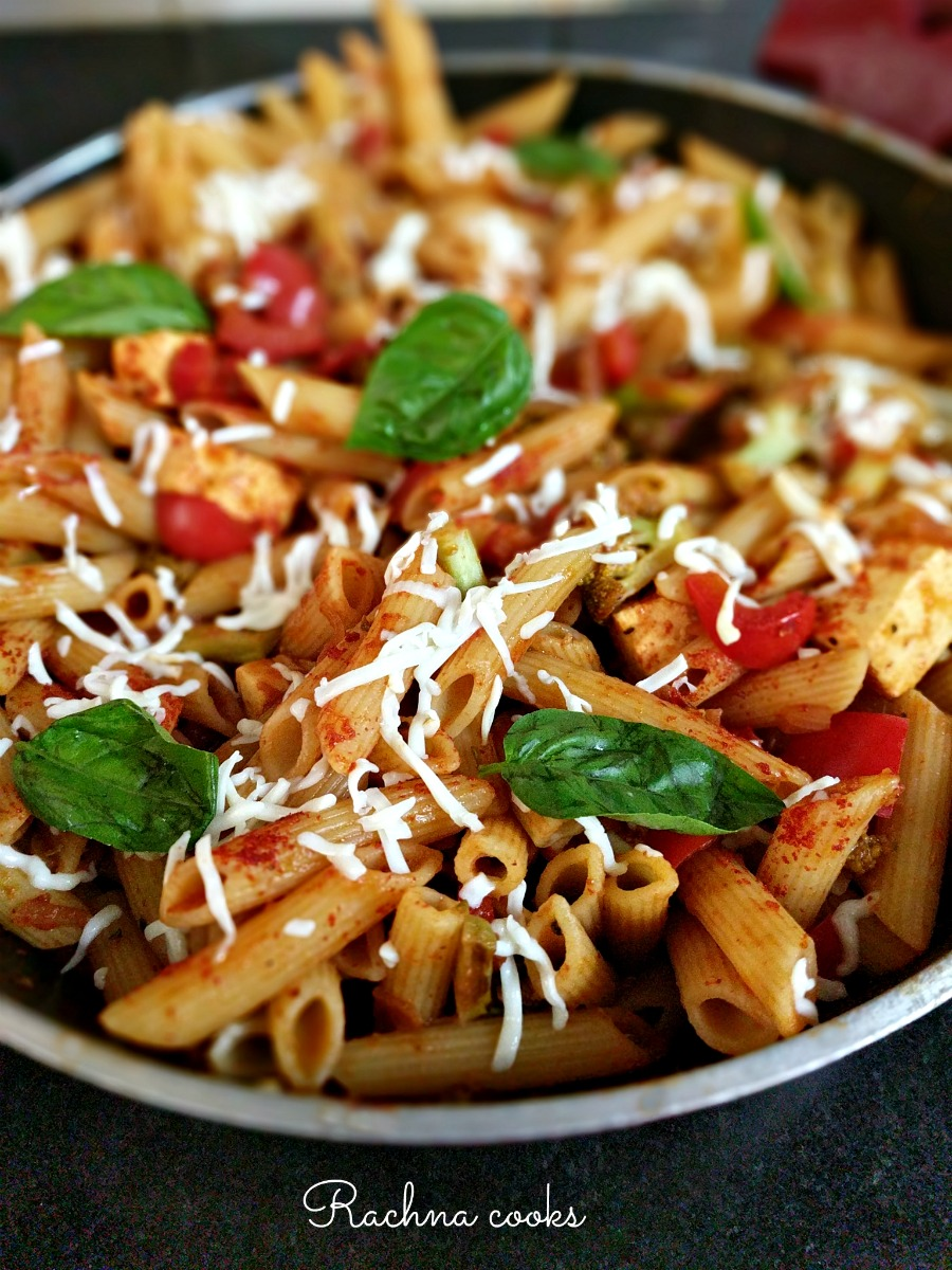 Healthy Red Sauce Pasta Recipe | Pasta in Red Sauce