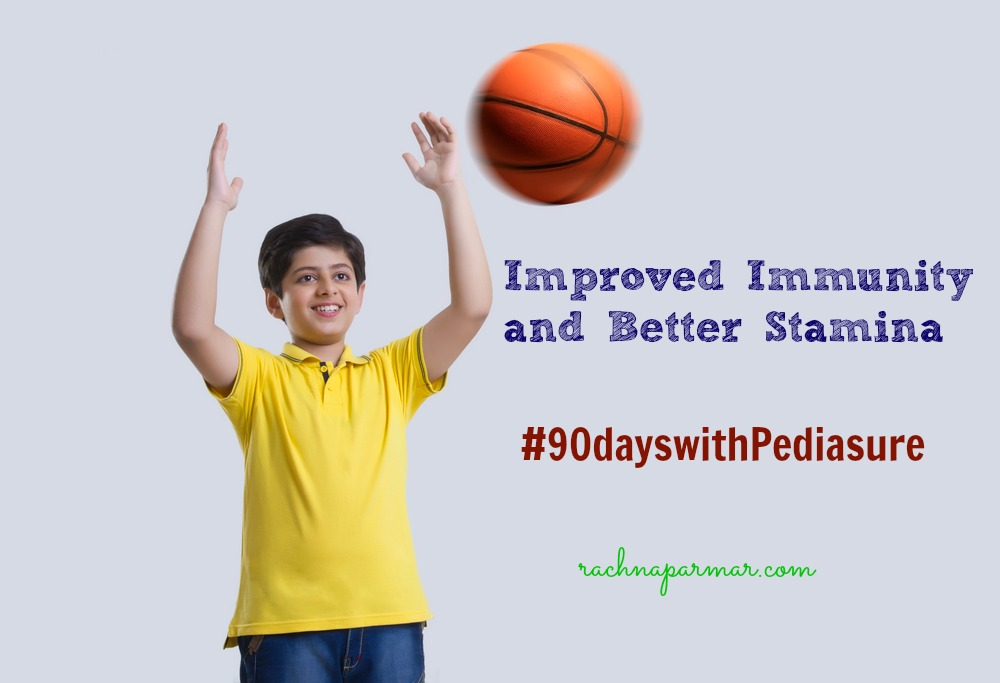 Improved Immunity and Better Stamina #90dayswithPediasure