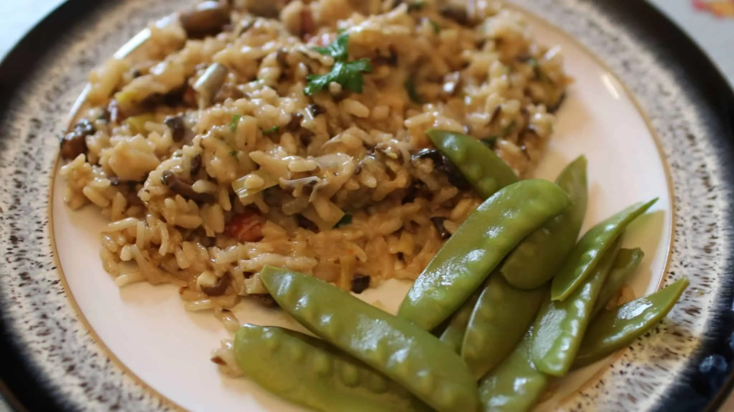 HelloFresh - Mushroom and Pancetta Risotto