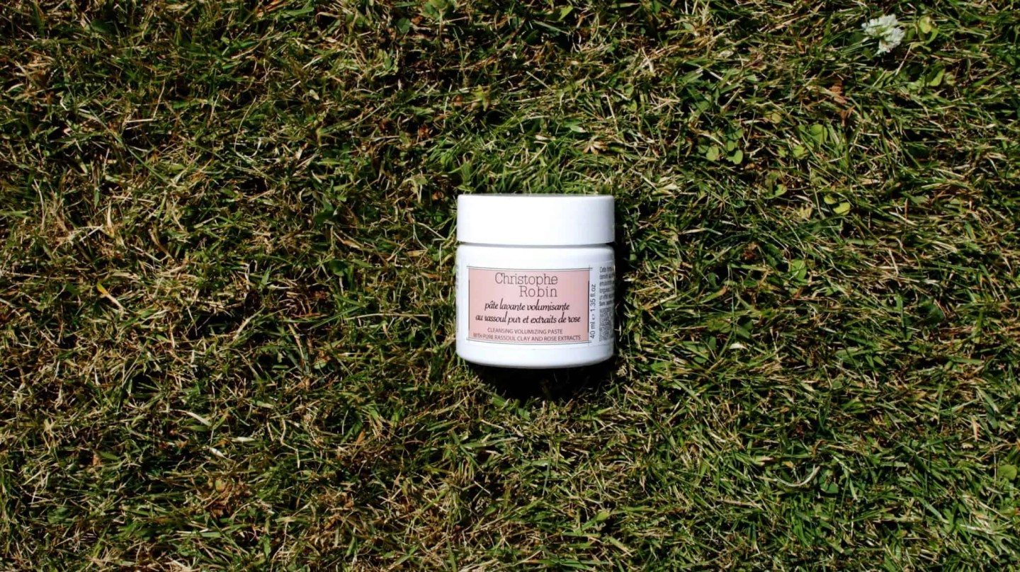 Christophe Robin - Cleansing Volumising Paste with Pure Rassoul Clay and Rose Extracts