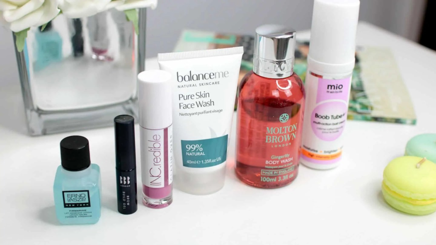 Products Lookfantastic August 2018