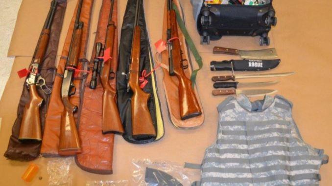 Felon drugs guns undercover