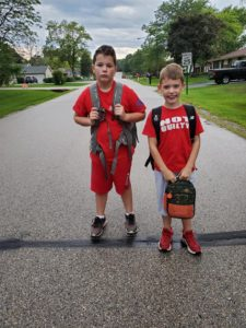 First day of school, Racine, Wisconsin
