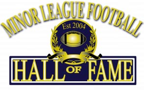Minor League Football Hall of Fame logo