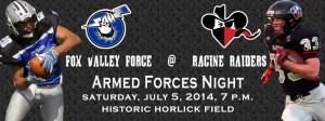 Armed Forces Night - July 5