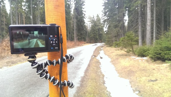Gorillapod und Sony S110 in action