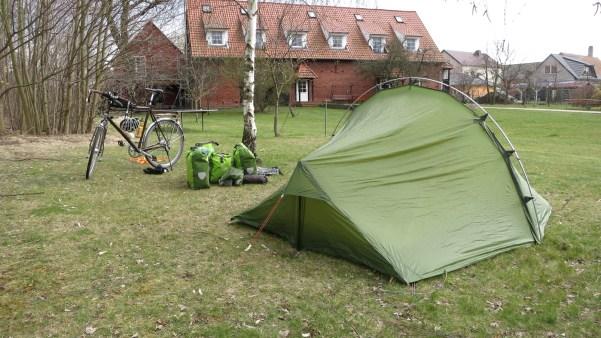 """Campingplatz """"Auf der Tenne"""" in Klöden"""