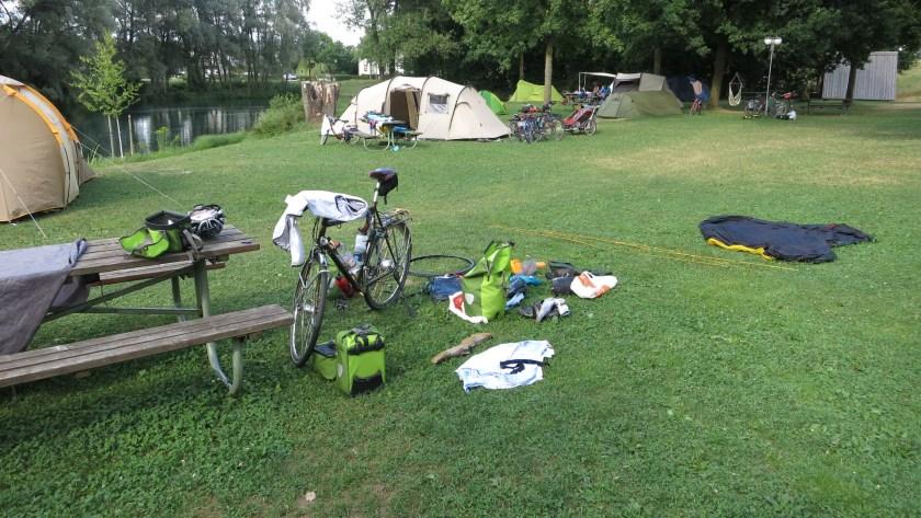 Camping Platz Au an der Donau