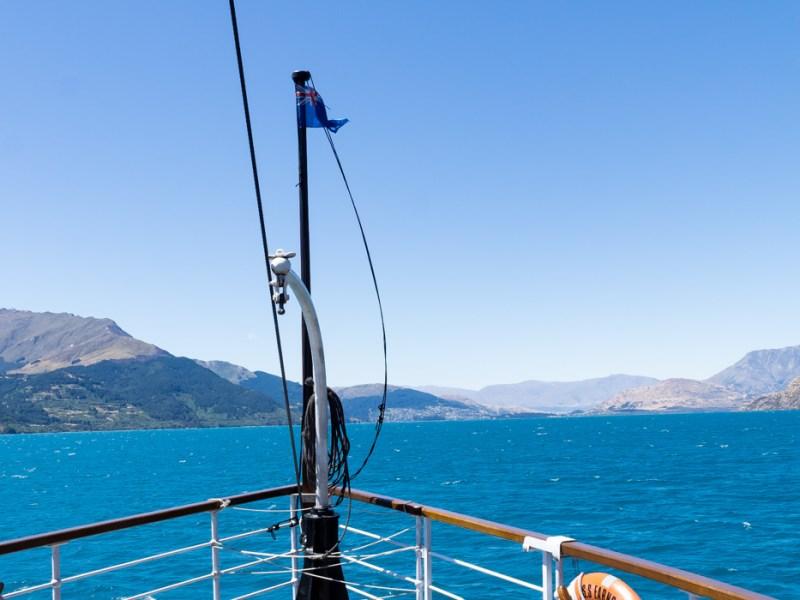 Bootsfahrt von Walther Peak nach Queenstown