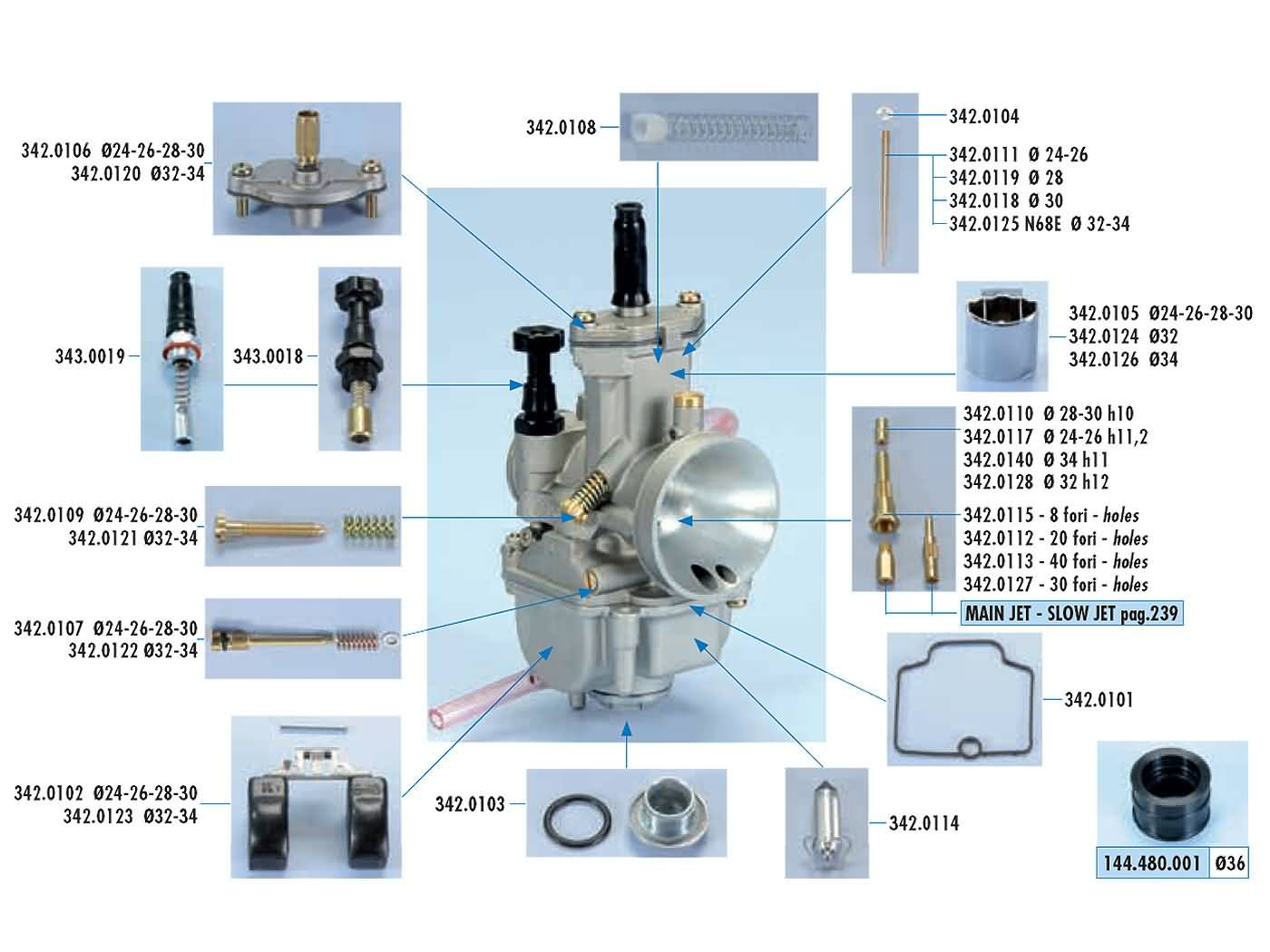 hight resolution of carburetor parts polini for keihin pwk stage6 naraku koso oko flat slide carbs